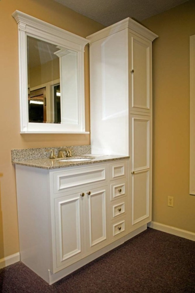Floor To Ceiling Bathroom Cabinets