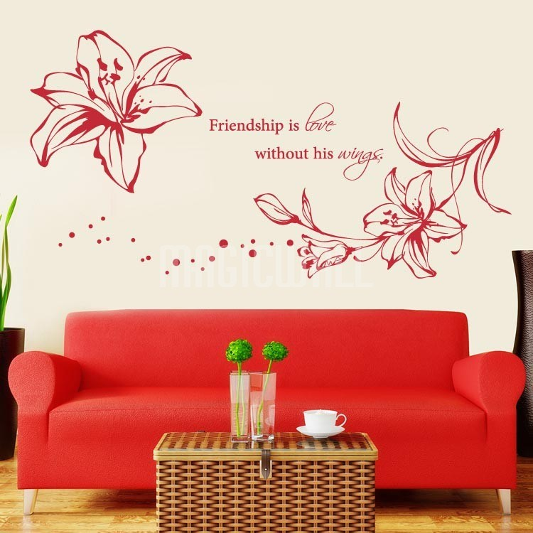 Floral Wall Decals Canada