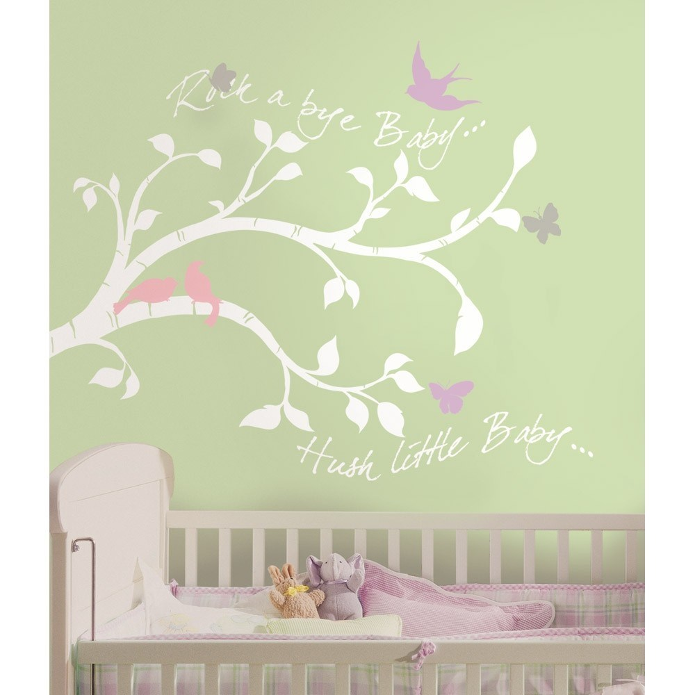 Floral Wall Decals For Nursery