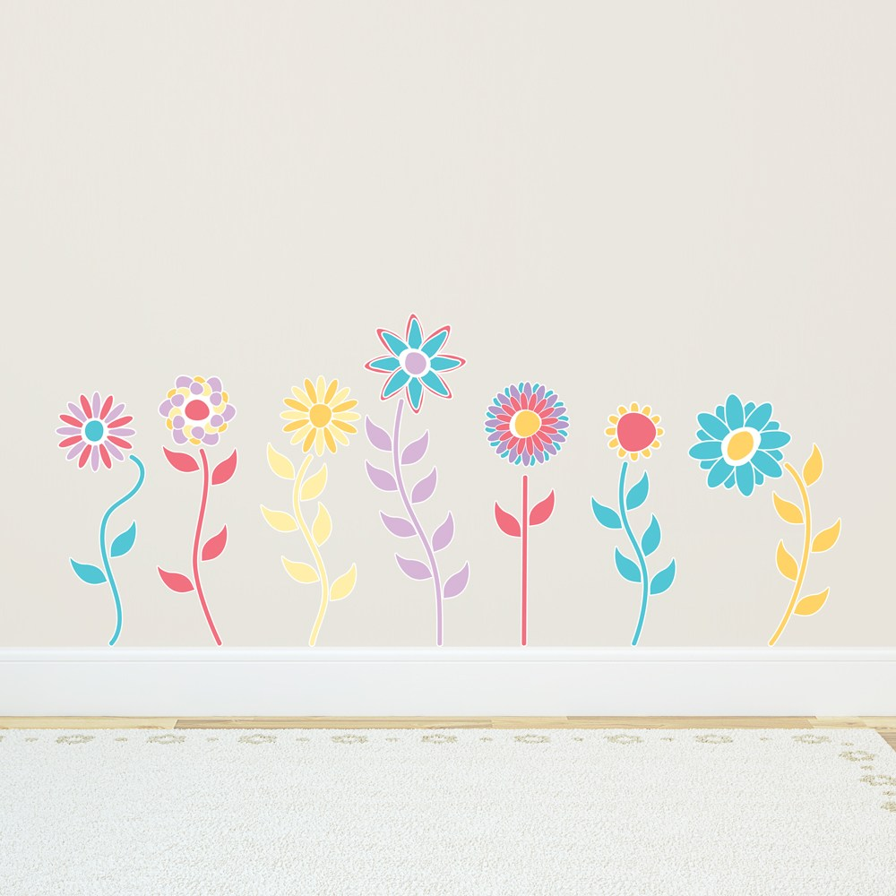 Flower Decals For Walls