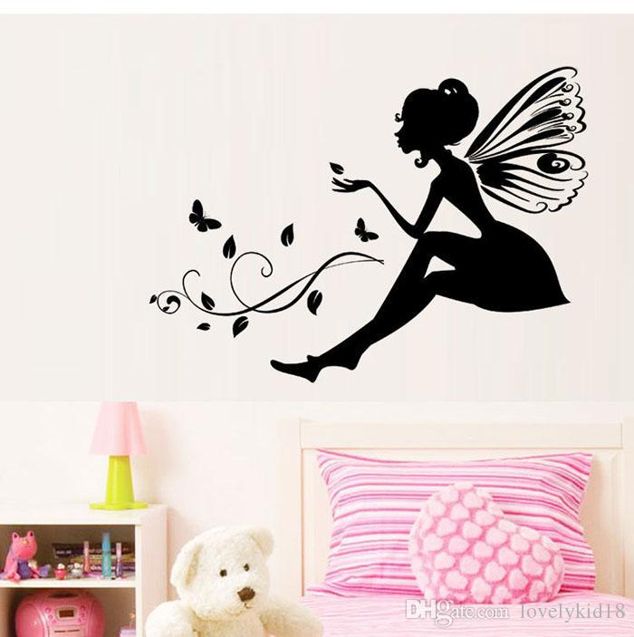Flower Fairy Wall Decals