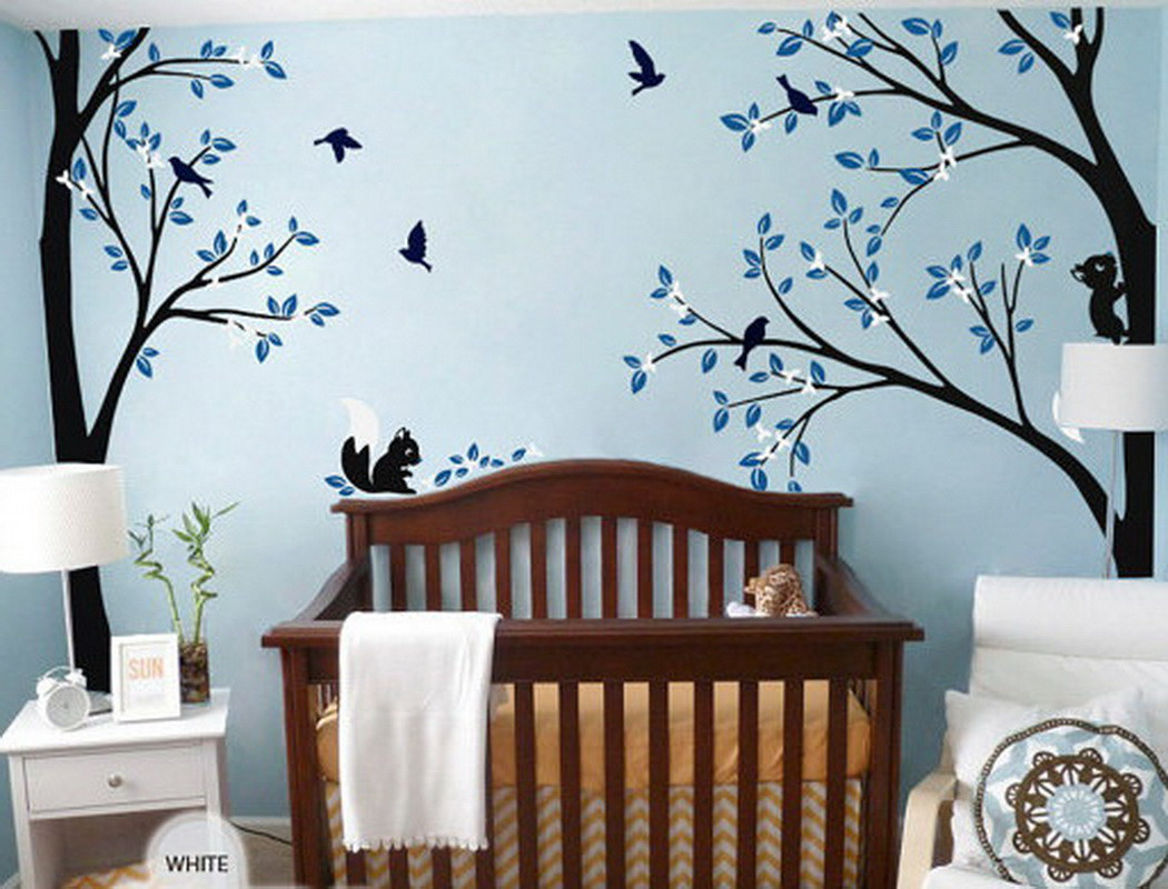 Flower Wall Decals Nursery