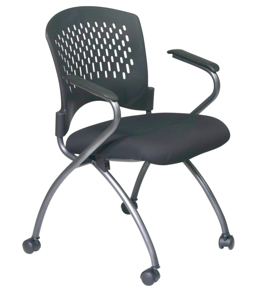 Folding Office Chair With Arms