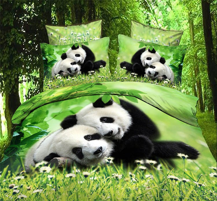 Forest Green Comforter Set
