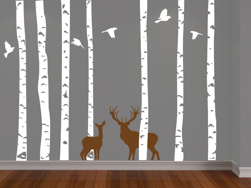 Forest Vinyl Wall Decal