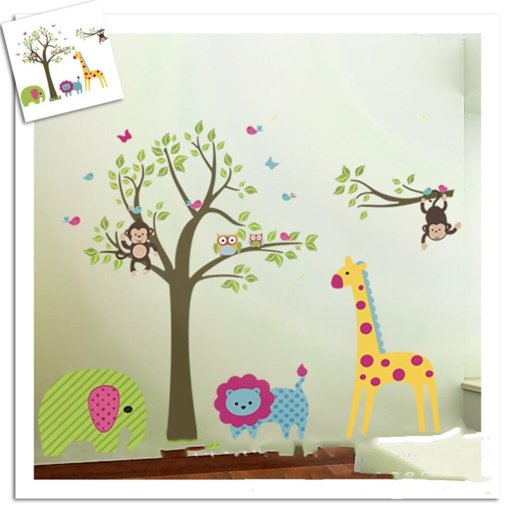 Forest Wall Decals For Nursery