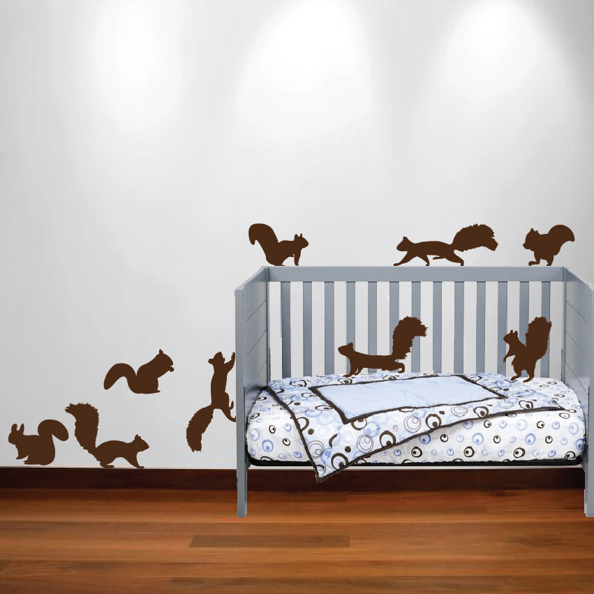 Fox Wall Decal Nursery