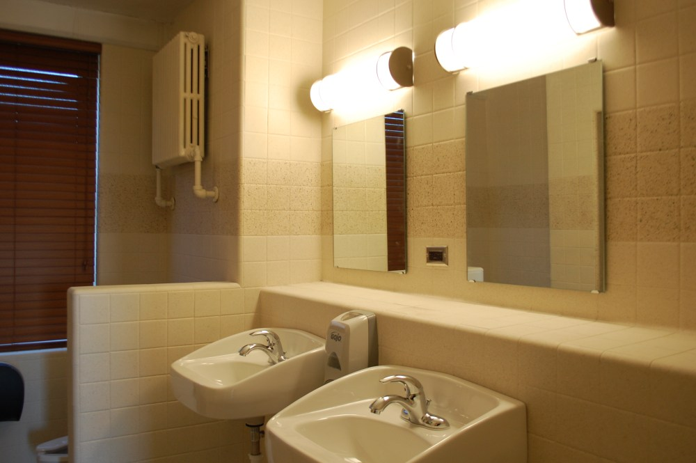 Framed Mirrors For Bathrooms Lowes