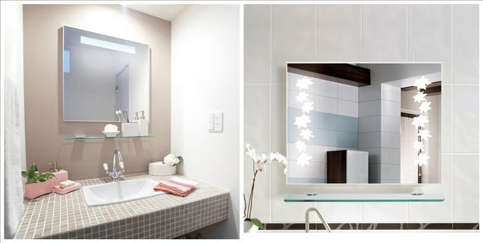 Frameless Bathroom Vanity Mirror