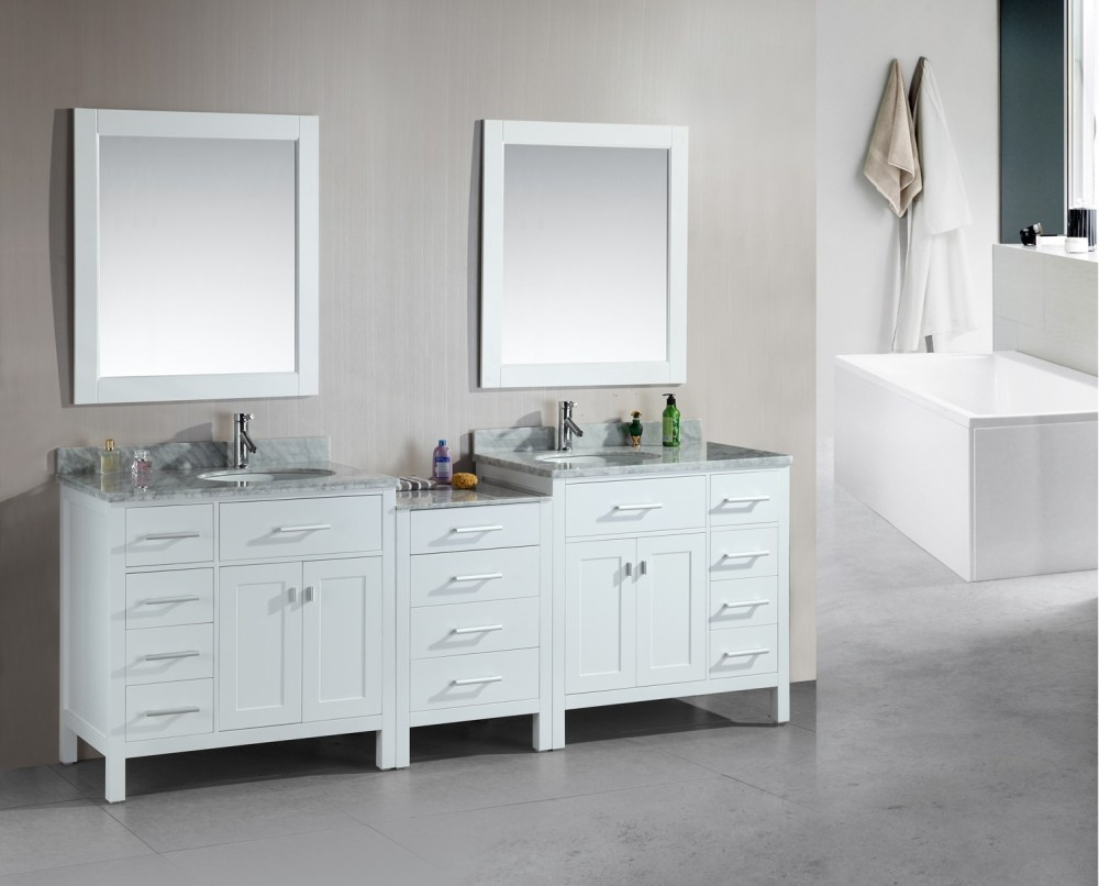 Free Standing Bathroom Cabinets With Drawers