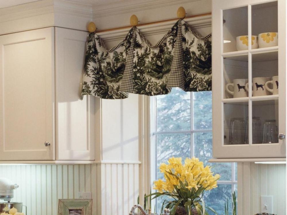 French Country Window Treatments Valances