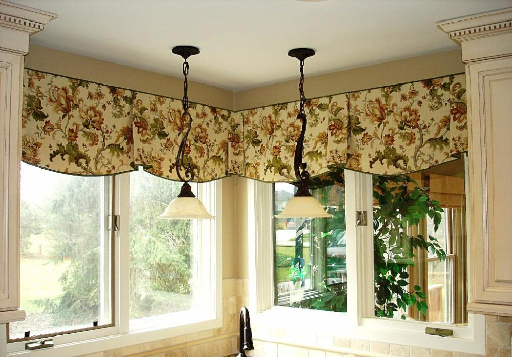 French Country Window Valances
