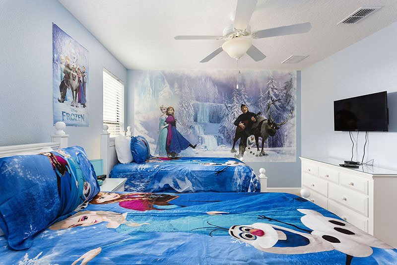 Frozen Kids Bedroom Ideas