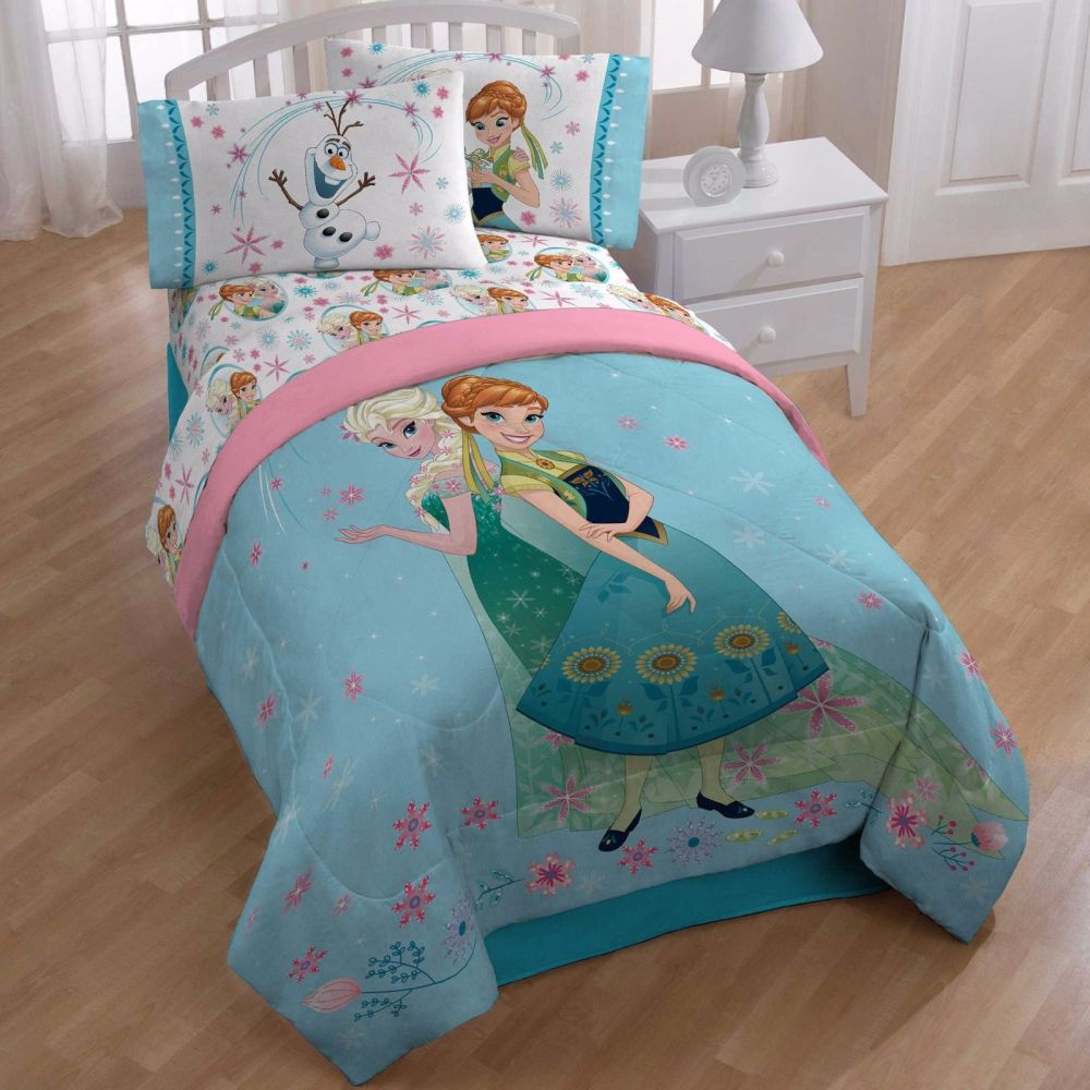 Frozen Reversible Comforter Set