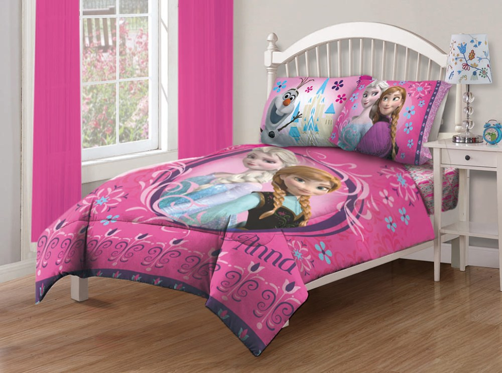 Frozen Twin Comforter Set