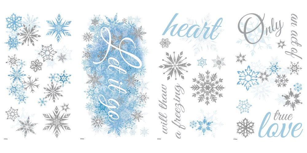 Frozen Wall Decals Australia