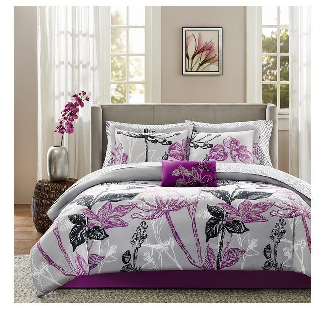 Full Size Comforter Sets Gray