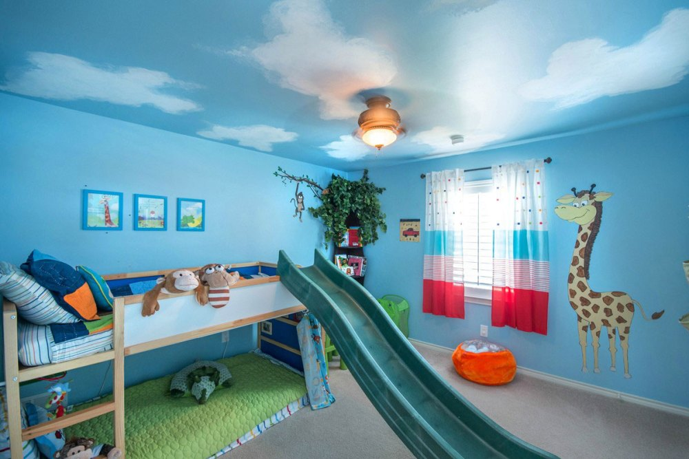Fun Kids Bedroom