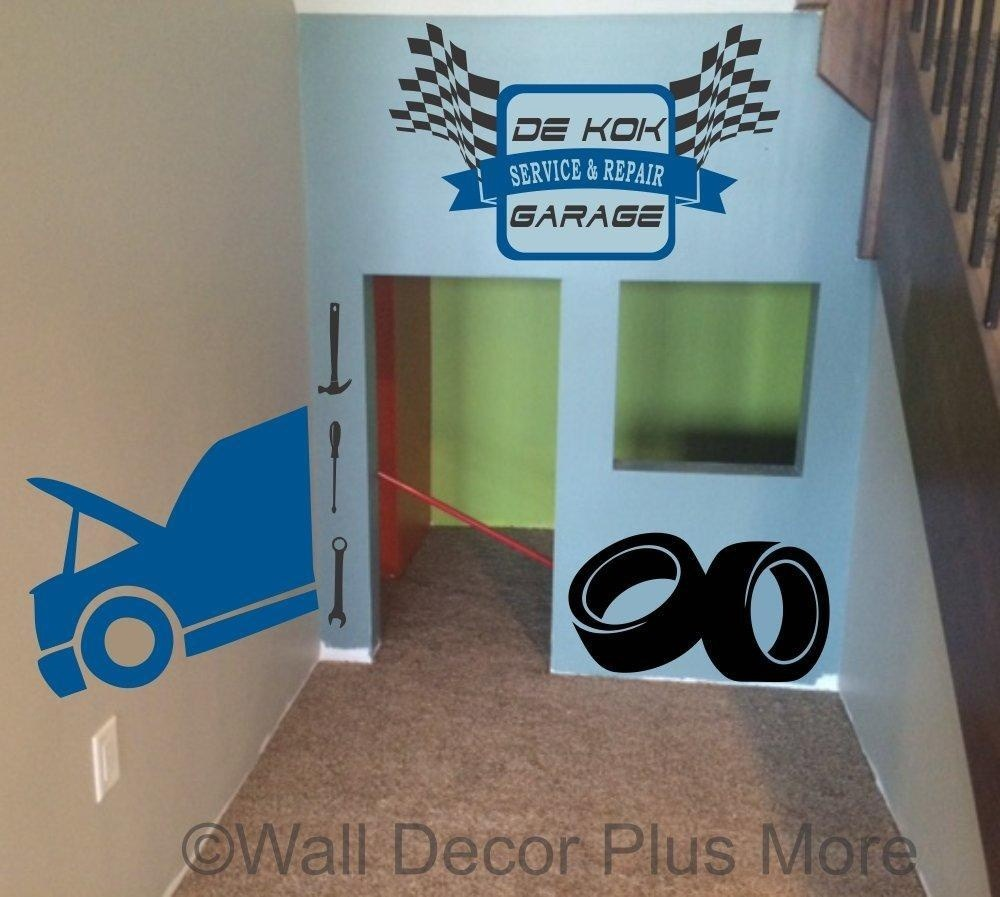 Garage Stickers Wall Decals
