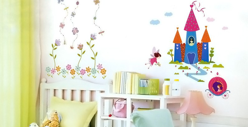 Garden Fairy Wall Decals