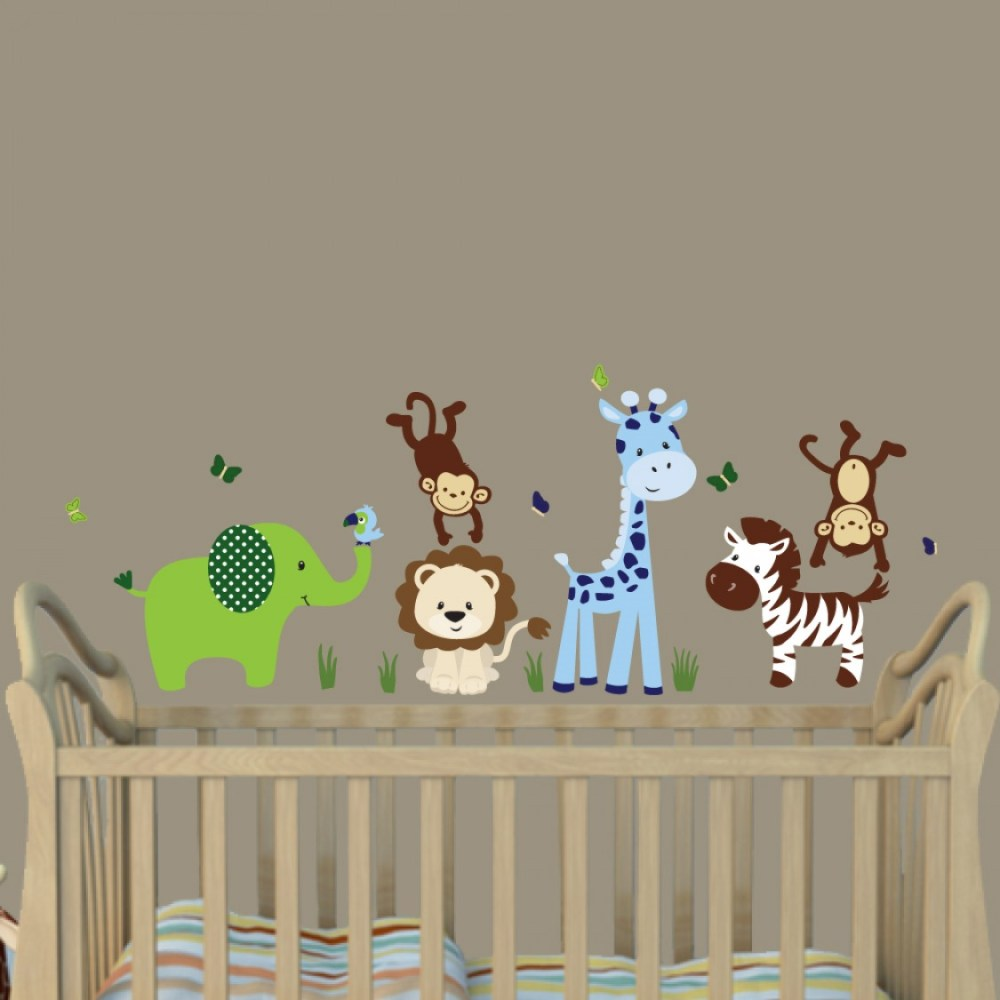 Giraffe Wall Decals For Nursery