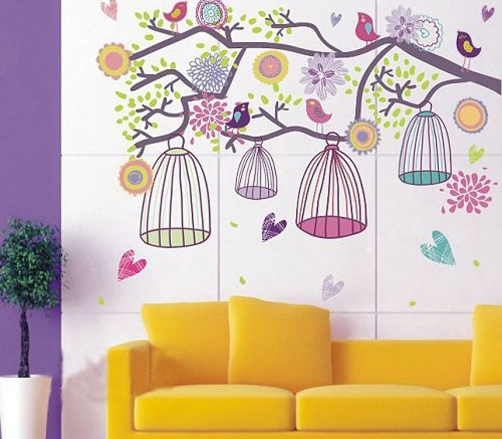 Girls Bedroom Wall Decal