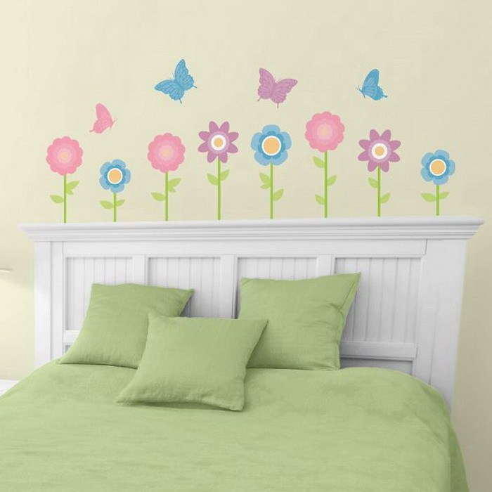 Girls Bedroom Wall Decals