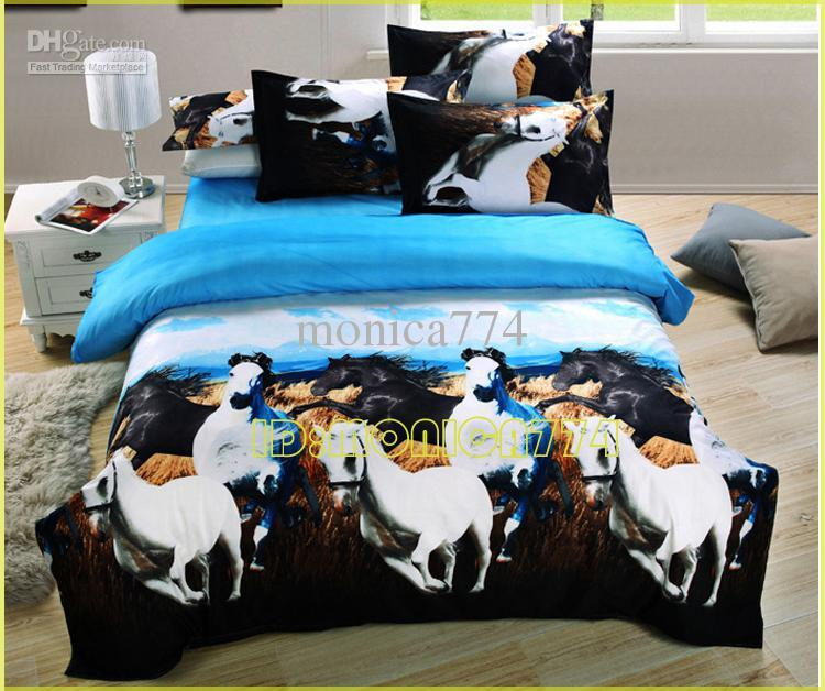 Girls Horse Comforter Set