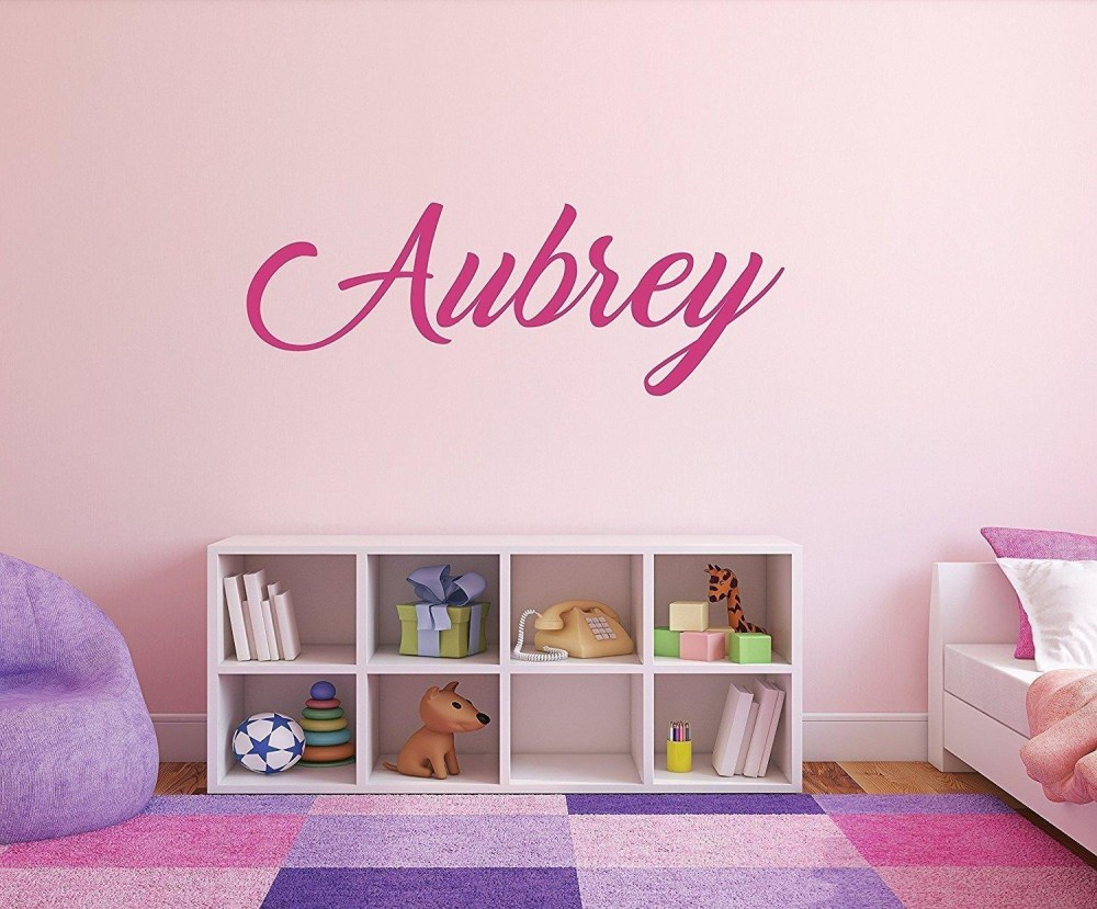 Girls Name Wall Decals