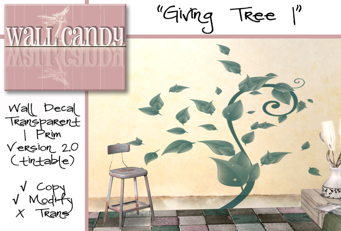 Giving Tree Decal Wall