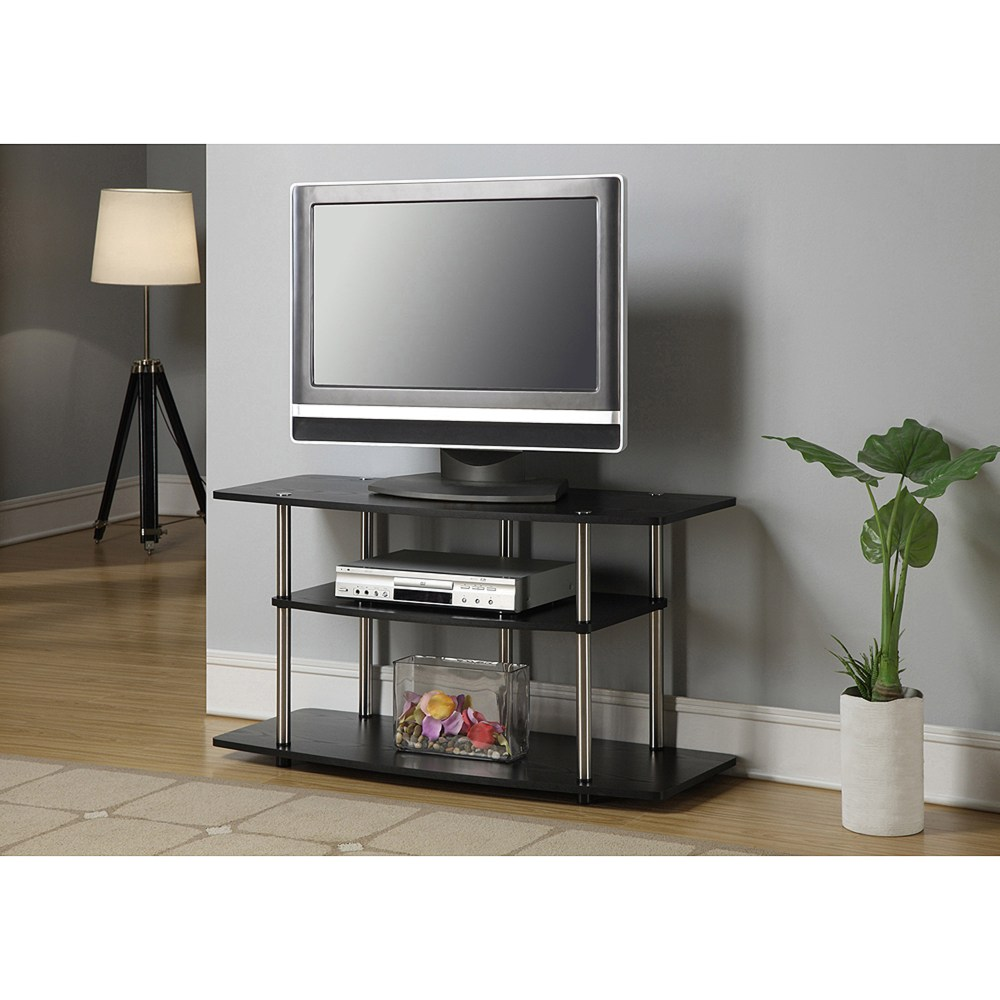 Glass And Metal Tv Stand Walmart