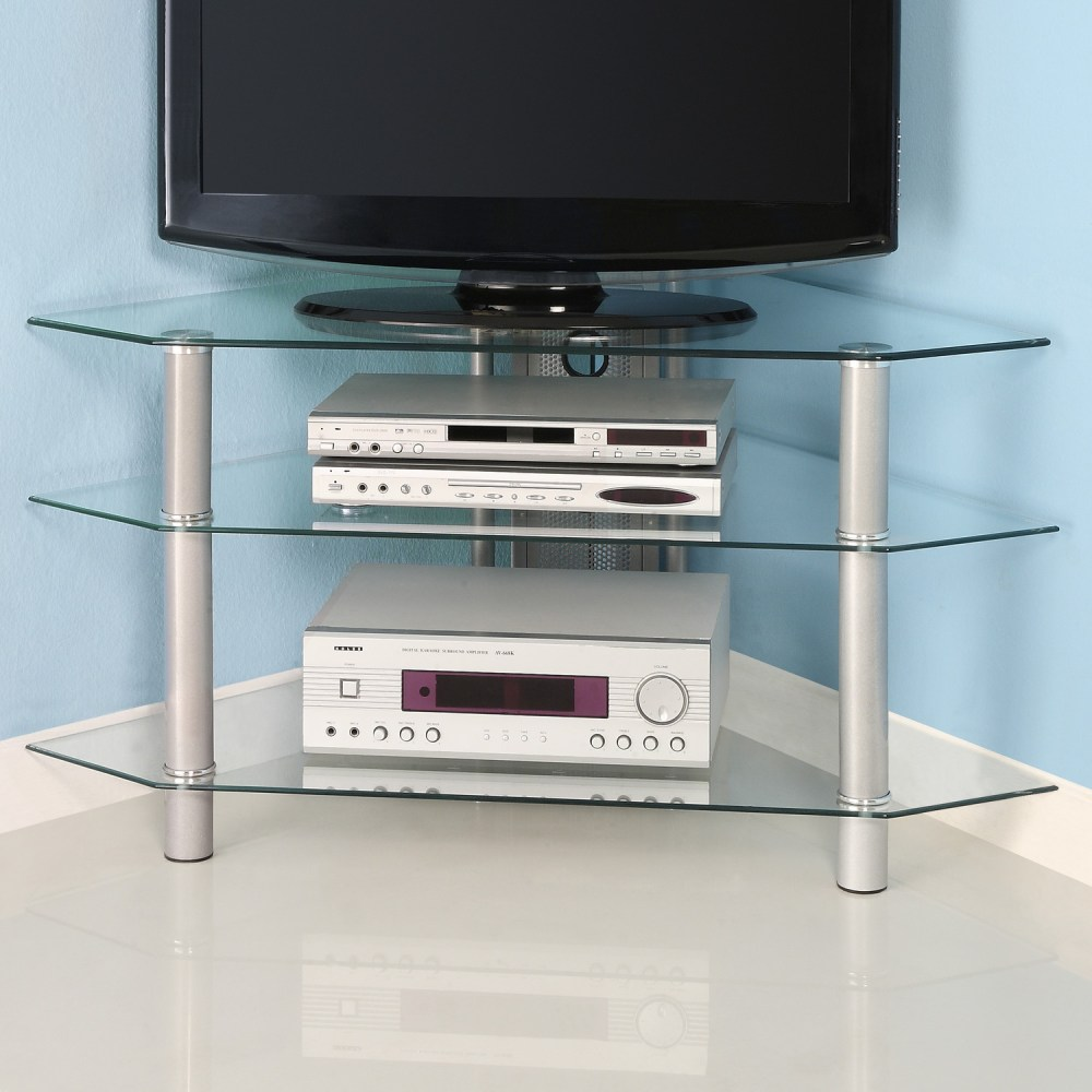 Glass Corner Tv Stands