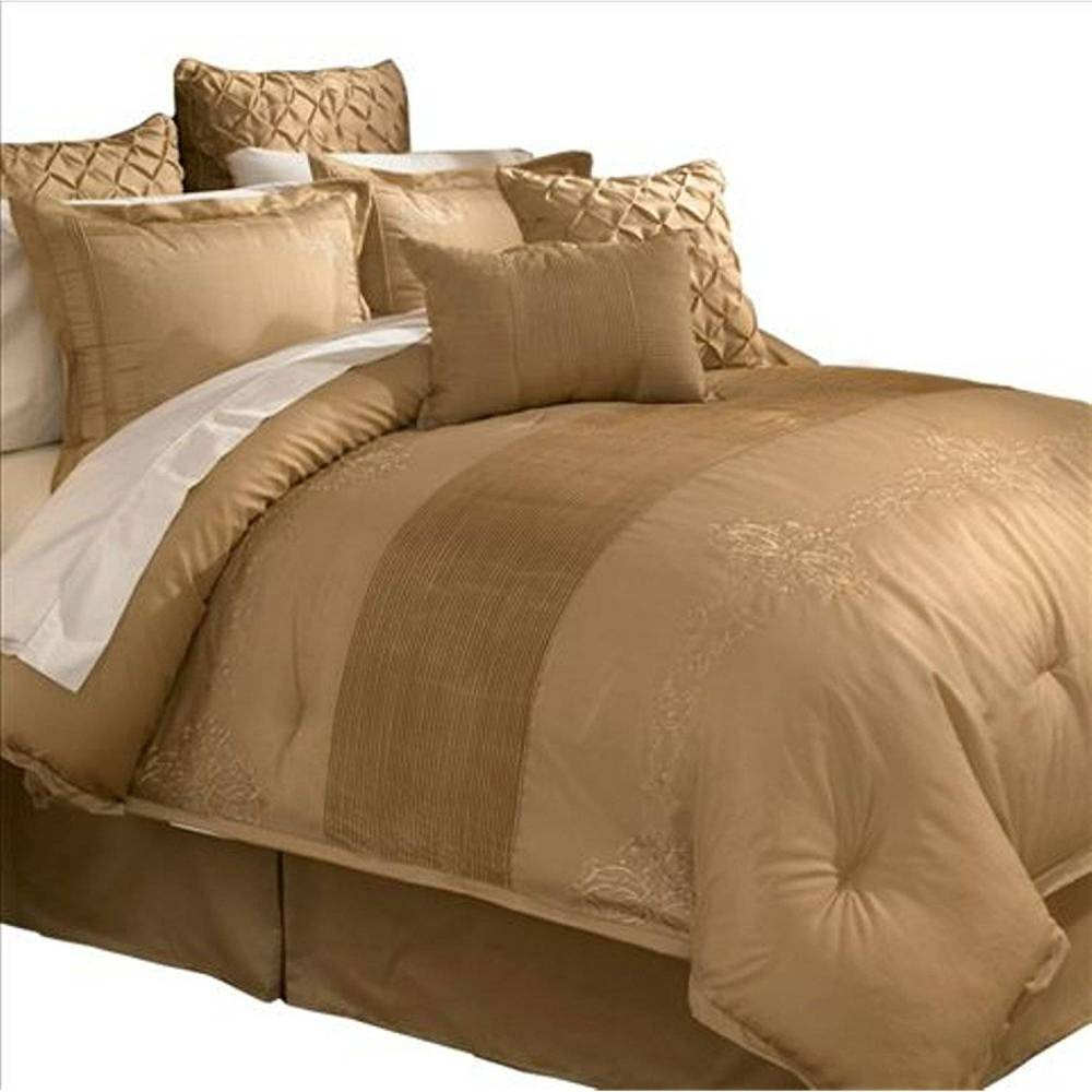 Gold And Brown Comforter Sets