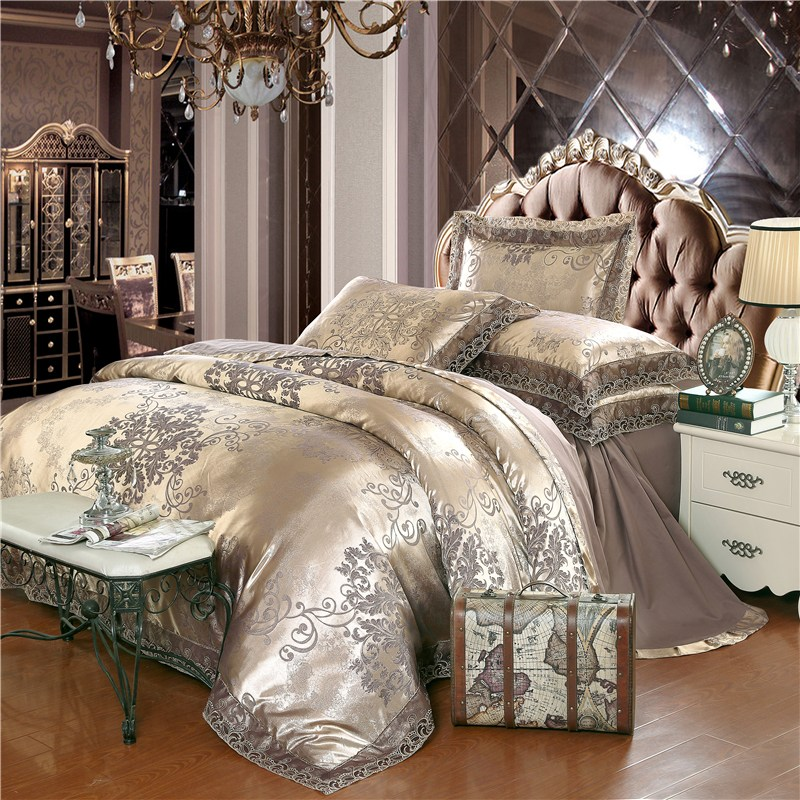 Gold And Silver Comforter Sets