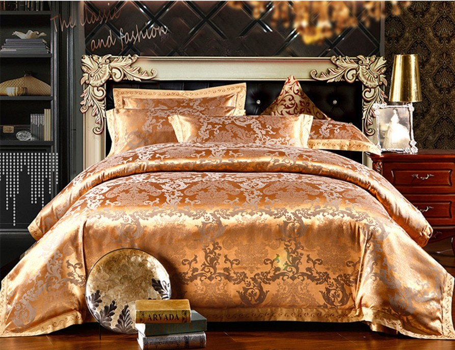Gold King Size Comforter Sets