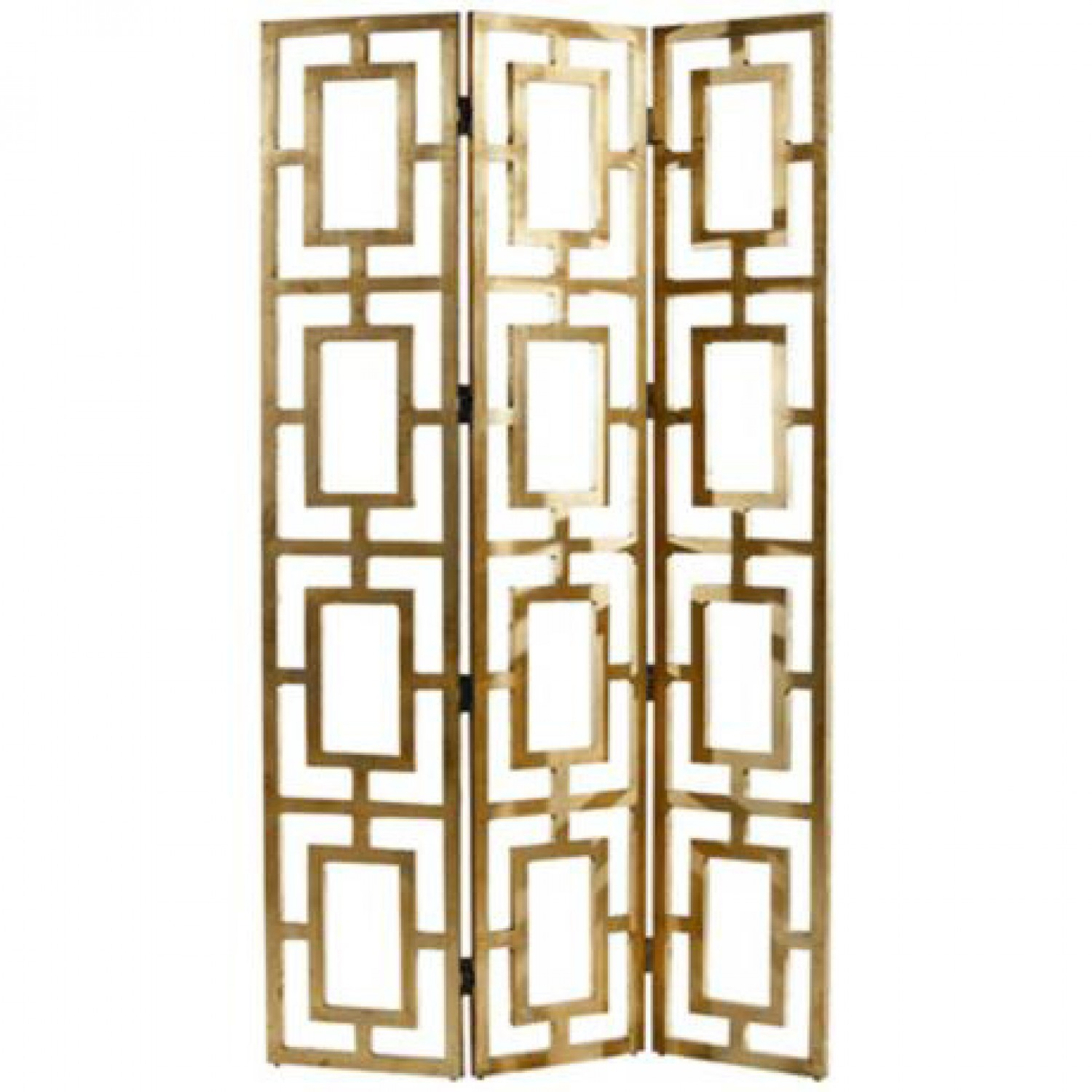 Gold Room Divider Screen