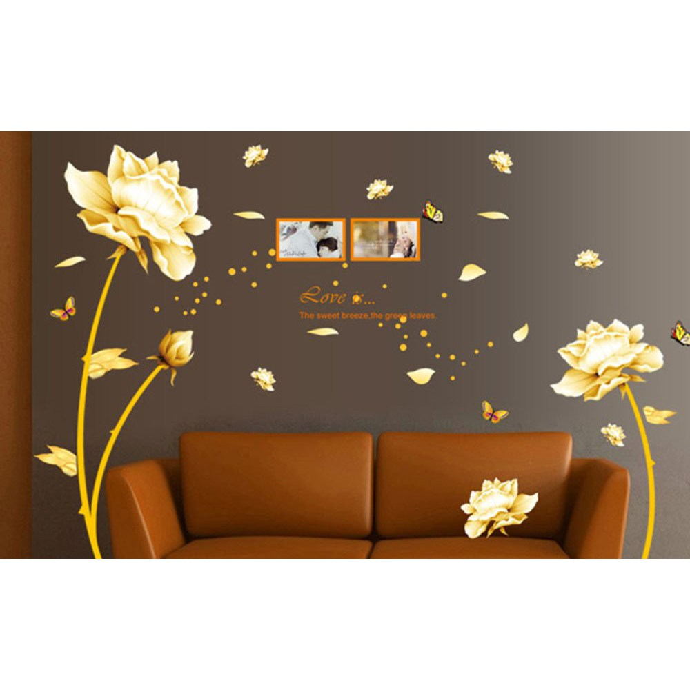 Gold Wall Decals Quotes