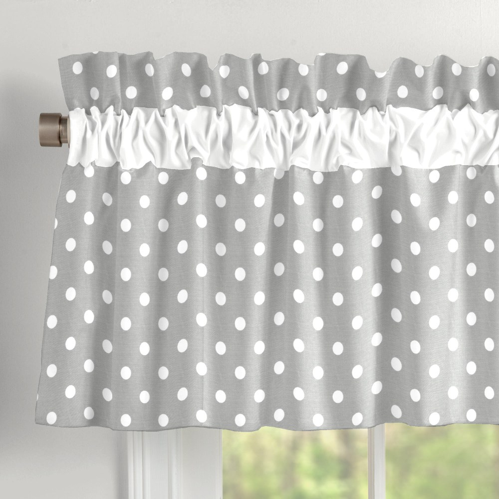Gray And White Valance