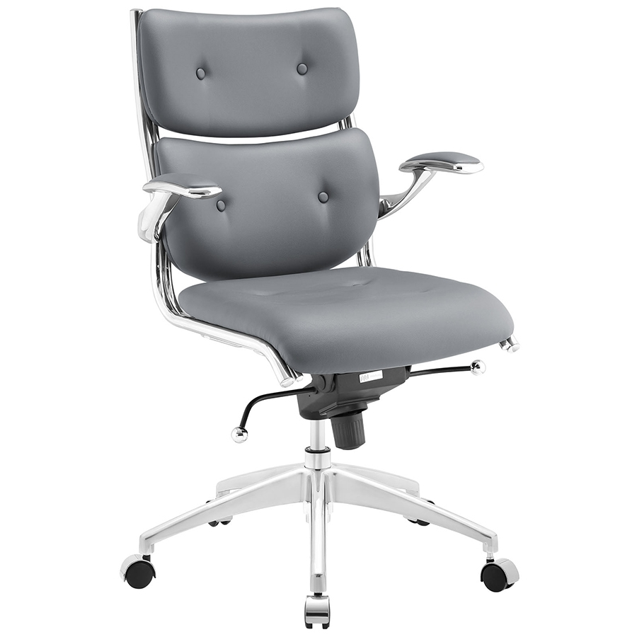 Gray Office Chair Modern