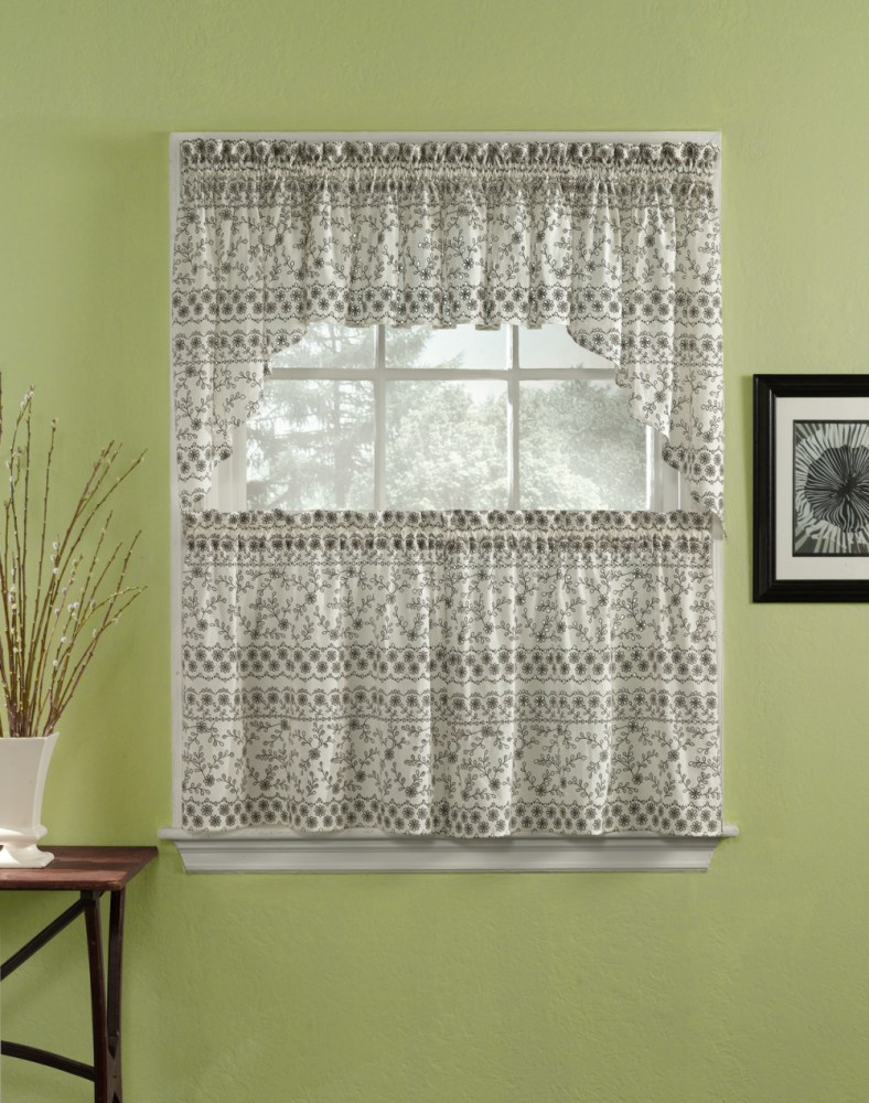 Gray Valance Curtains