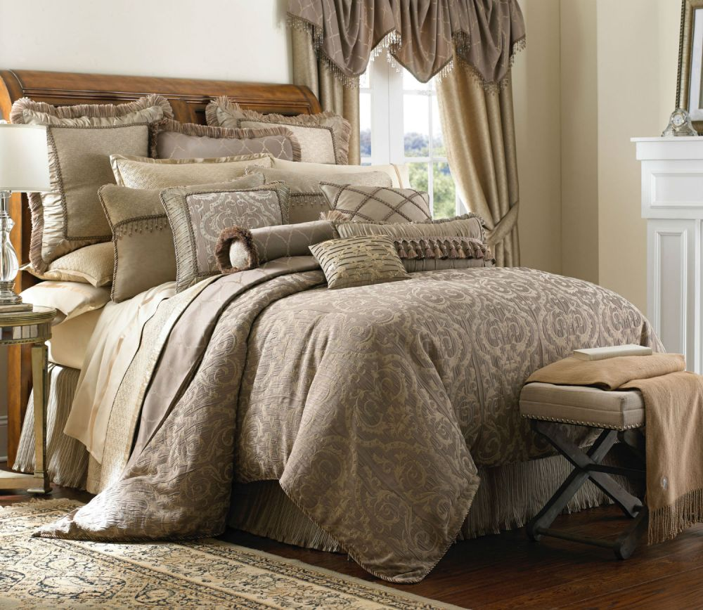 Green And Beige Comforter Sets