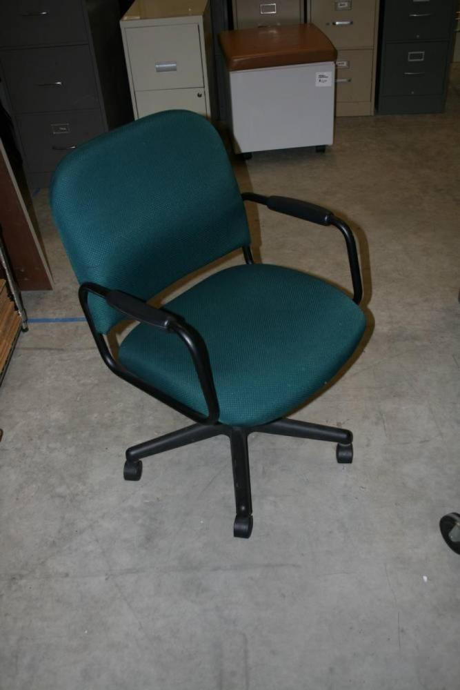 Green And Black Office Chair