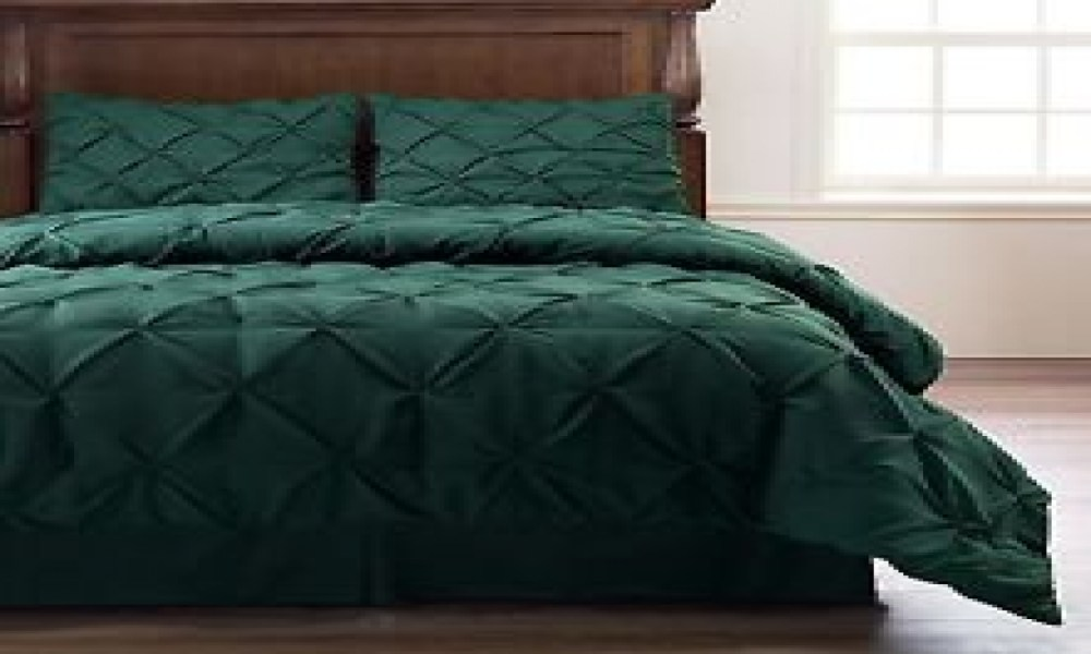 Green Comforter Set King Size