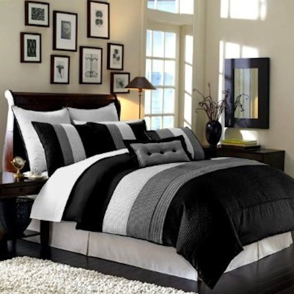 Grey Bed Comforter Sets
