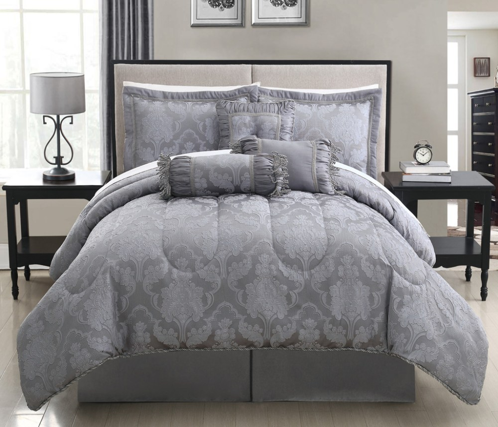 Grey Comforter Sets Full