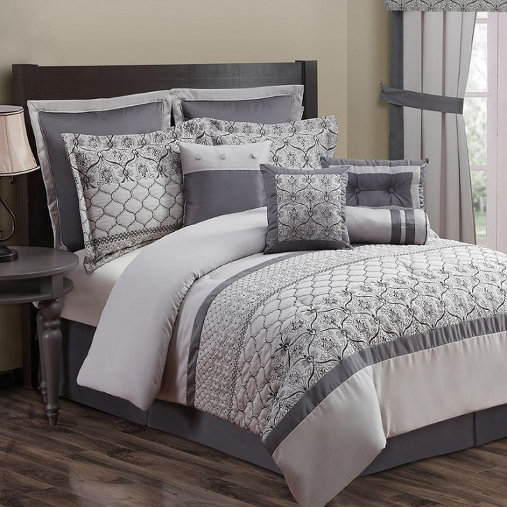Grey Full Comforter Sets