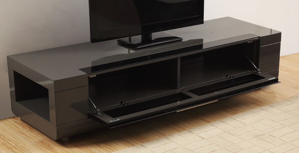 Grey High Gloss Tv Stand