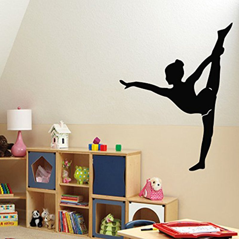 Gymnastics Vinyl Wall Decals