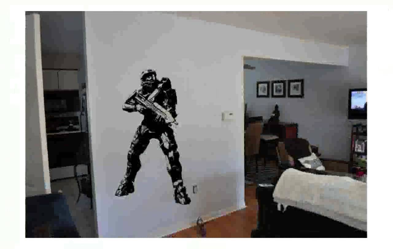 Halo Wall Decals
