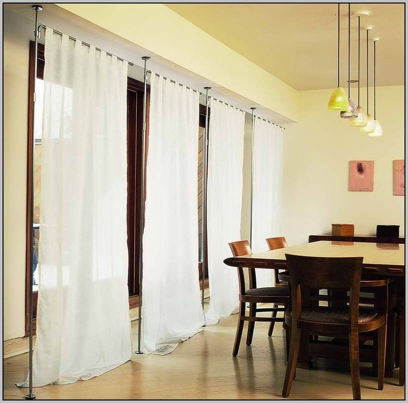 Hanging Room Divider Curtains